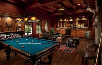 Man cave ideas, Source: stanleyhomesinc.com
