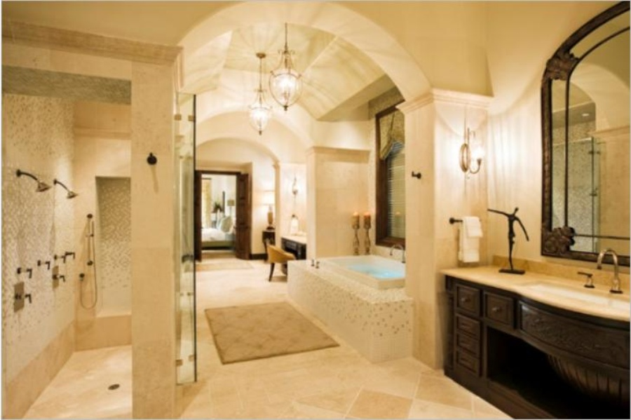 Bedroom With Bathroom Design Ideas Bedroom And Bathroom In One Room