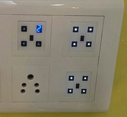 Touch screen remote controlled switches