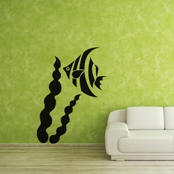 Angel Fish Wall Decal ( KC152 )