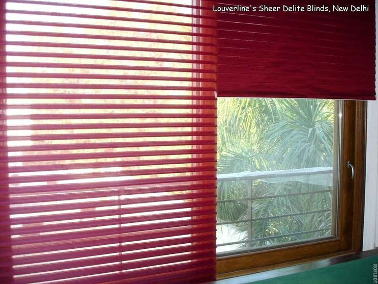 Blinds inside the Bedroom Interiors