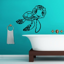 Little Turtle Wall Decal ( KC101 )