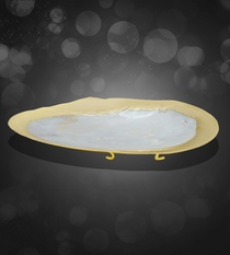 Buy Gold Plated Oval Shell