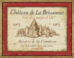 French Wine Label I Poster