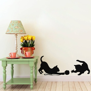 Cats at Play Wall Decal ( KC317 )