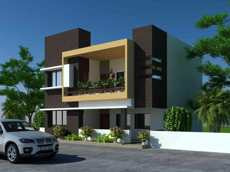 Floor Front Elevation Worship : Kumavat house by cds architects architect in ahmedabad