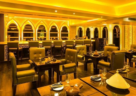 Restaurant Interior Design Ideas by Interior Firm Studio Interiors Infra Height Pvt Ltd