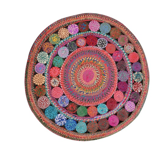 Begonia -  Recycled, Hand-woven Cotton Rugs