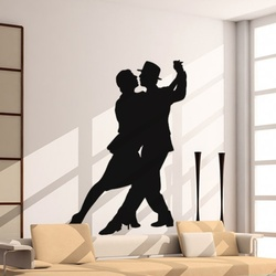 Dancing Couple Wall Decal ( KC092 )