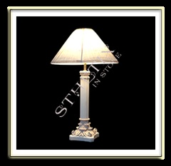 Classic Capital Pedestal Lamp