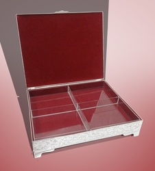 Dry Fruit Box with 4-Partitions