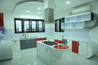Kitchen design by Interior Designer: Premdas Krishna