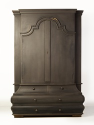Vintage French Colonial Armoire,