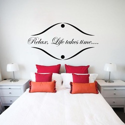 Life Takes Time Wall Decal ( KC392 )