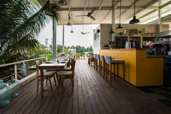 Cafe Interiors Design Story Of Om Made Cafe In Bangalore Sara Tilche