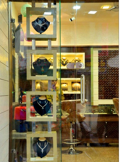 Turnkey Interior Jewellery Shop Wadaj by Arpit Shah Interior
