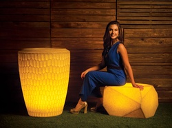 Illuminated Seater Piero - S