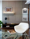 Art and artefacts are intrinsic elements of the guest lounge design.