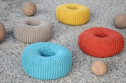 Polo Recycled Cotton Poufs