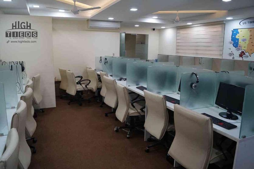 Call Center Interior Design Project Work Station Design