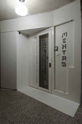 White Entrance Door Design