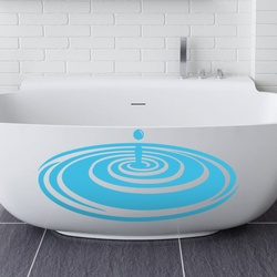 Water Splash wall decal ( KC253 )
