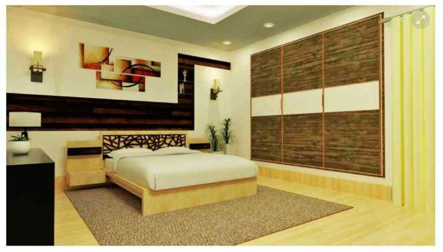 40D View For Bedroom Design By Shubhankar Ghosh Interior Designer In Interesting 3D Bedroom Design