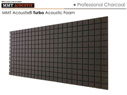 MMT Acoustix® Turbo Acoustic Panels Charcoal