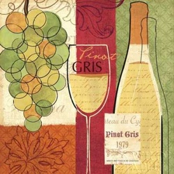 Wine and Grapes II Poster