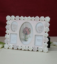 Photo Frame Collage Pink