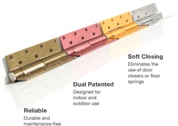 Softerclos Hydraulic Hinges for Wooden and Metal doors