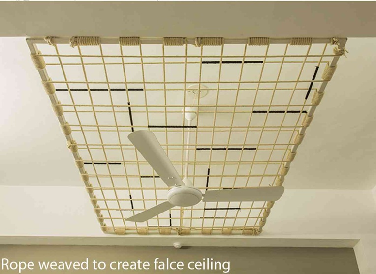 rope false ceiling