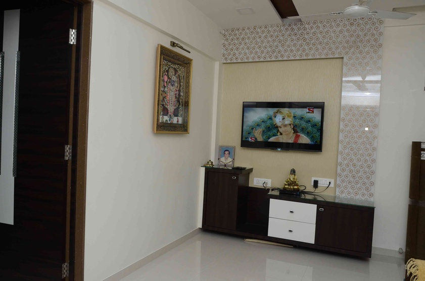 1bhk Interior Design By Chetan Chauhan Interior Designer In Kalyan