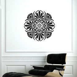 Floral Elegance Wall Decal ( KC149 )