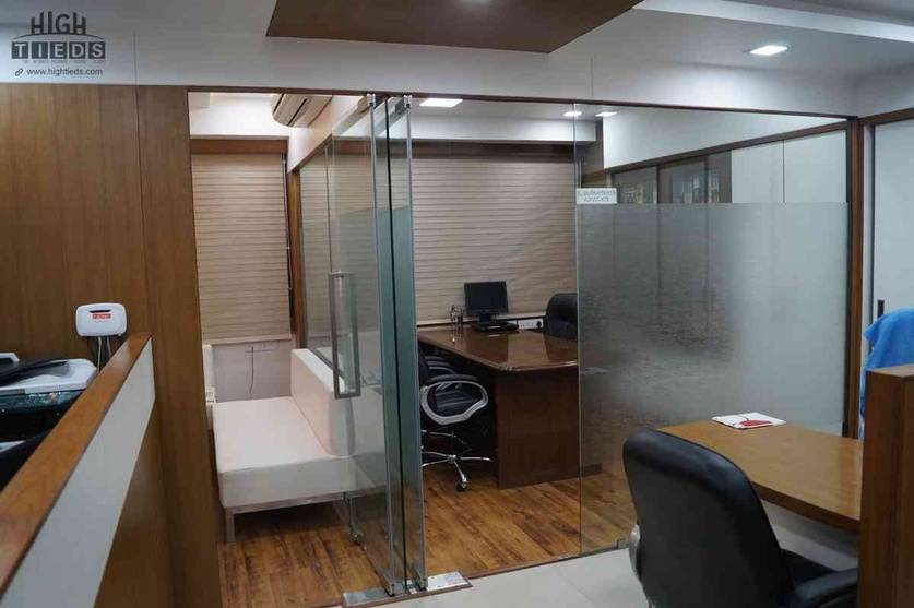 Office Main Cabin Design Meeting Room High Tieds Interior Ahmedabad