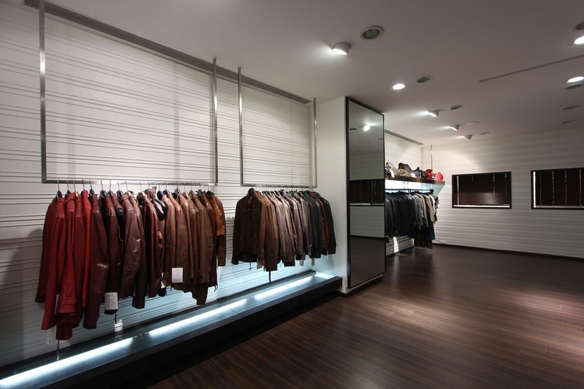 Stylish Display Area for Jackets