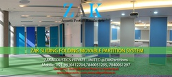 Acoustic Sliding Folding Partition Manufacturer India