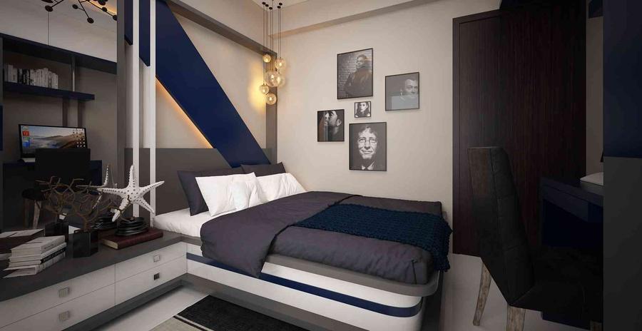 3d Visualization Bedroom By Vishal Sonawane Interior