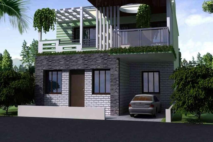 Front Elevation In Jaipur : Front elevation design by rohit mathur interior designer