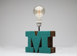 Sustainable Handmade Sylvn Studio Empower Table Lamp
