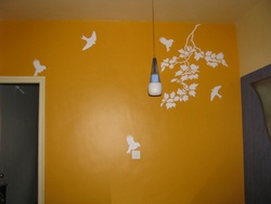 Birds On Flight Wall Decal ( KC026 )