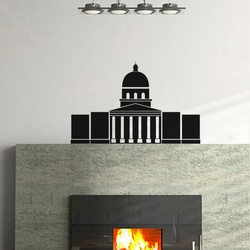 White House Wall Decal ( KC205 )