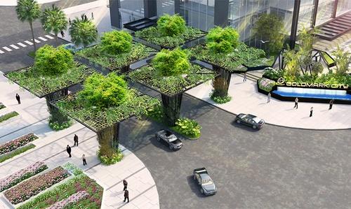 Urban landscape design - Goldmark City - Urban Landscape Design - Goldmark City, Interior Design Inspiration