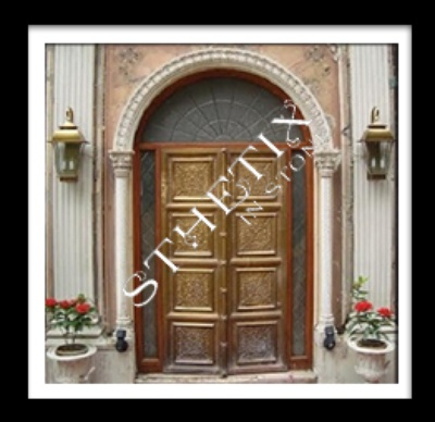 Customized Door frame sandstone mould marble pillars