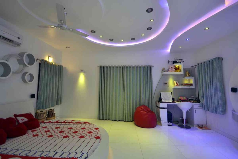 kids bed mood lighting