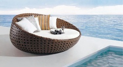 Day Bed Outdoor Furniture / Garden Furniture