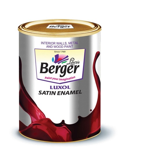 Berger Luxol Satin Enamel Paint for Wood and Metal