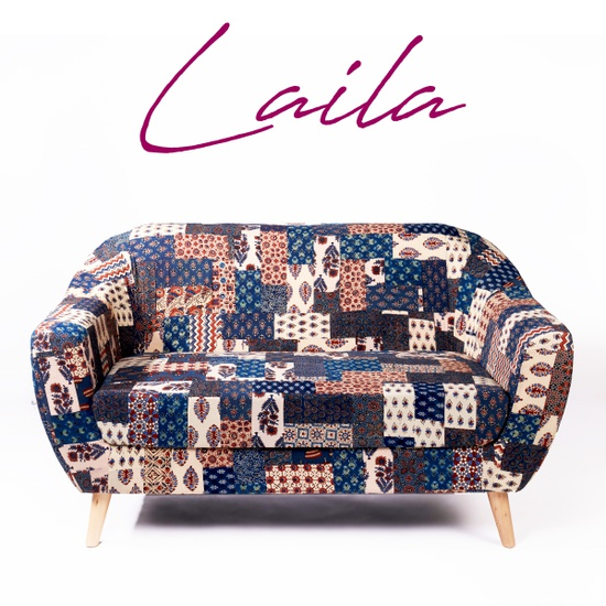 Laila 2-Seater Banni Patchwork Loveseat