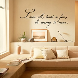 Love All Wall Decal ( KC393 )