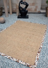 Brazilia Hand Woven Leather Rugs